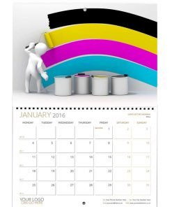 2020 Booklet Wall Wiro Calendars Personalised Printed