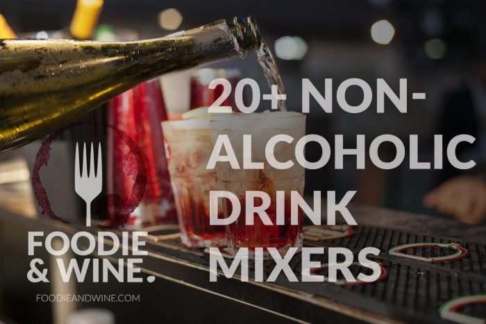 Non alcoholic drink mixers