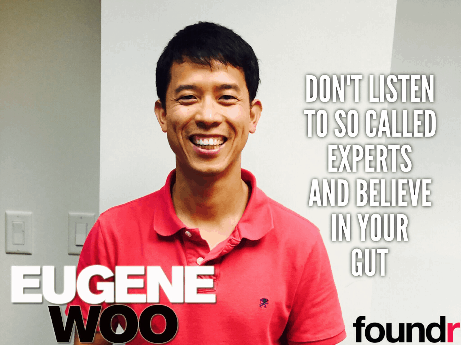 how to start a startup eugene woo