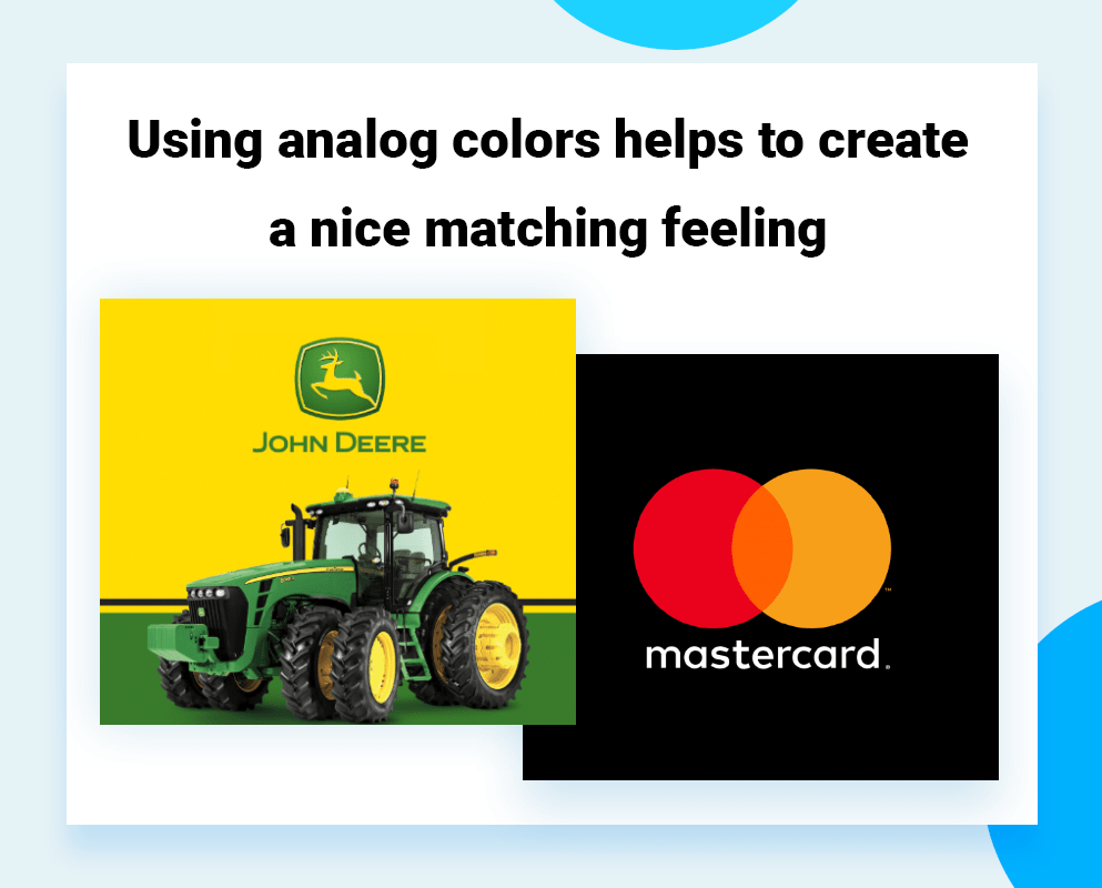 logo color schemes Complementary colors