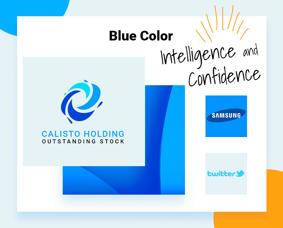 best logo colors blue color example