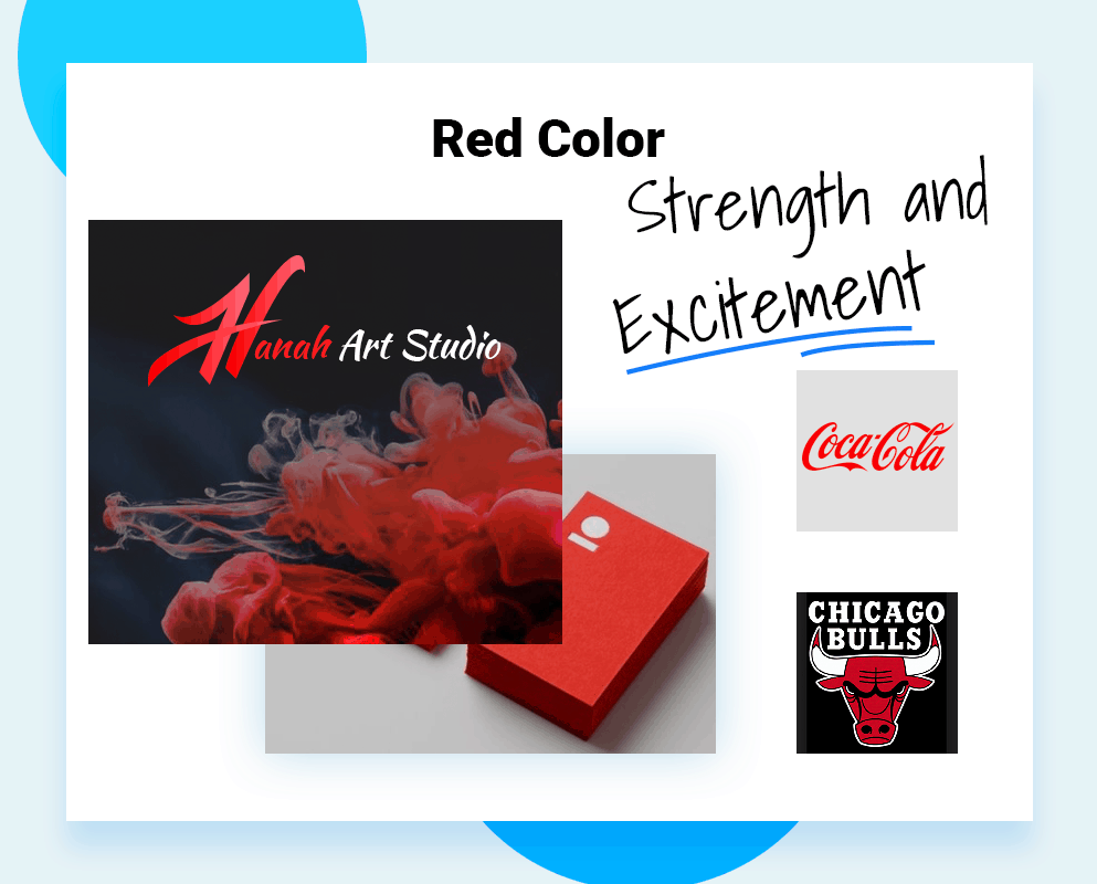 logo color schemes red color example