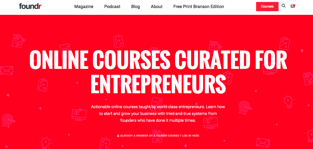 Start a consulting business, here are Foundr Online courses curated for entrepreneurs