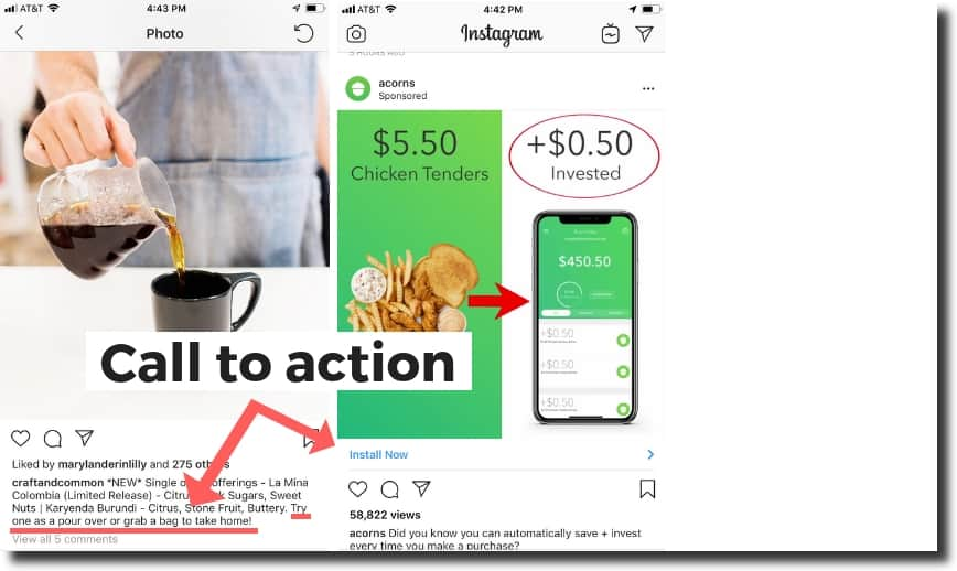 How to do Instagram videos,Craft and Common, encourages users to try one of their new sweets as their call to action