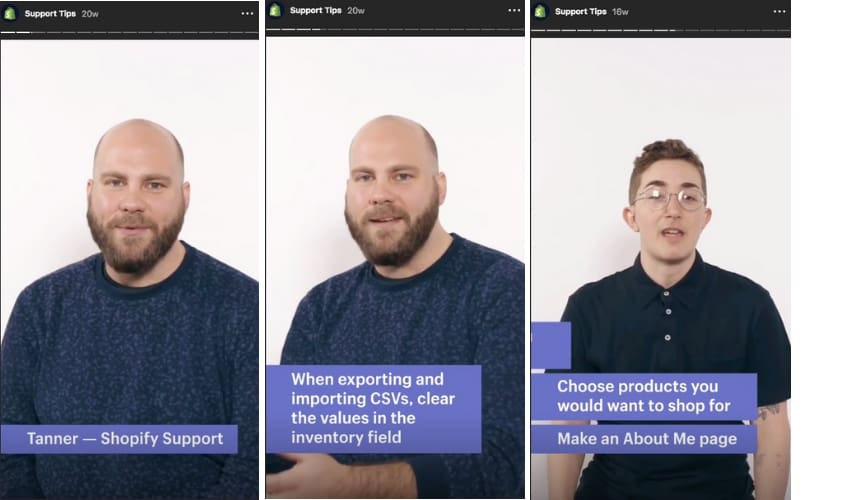 Shopify frequently takes to livestreams to answer common tech support questions
