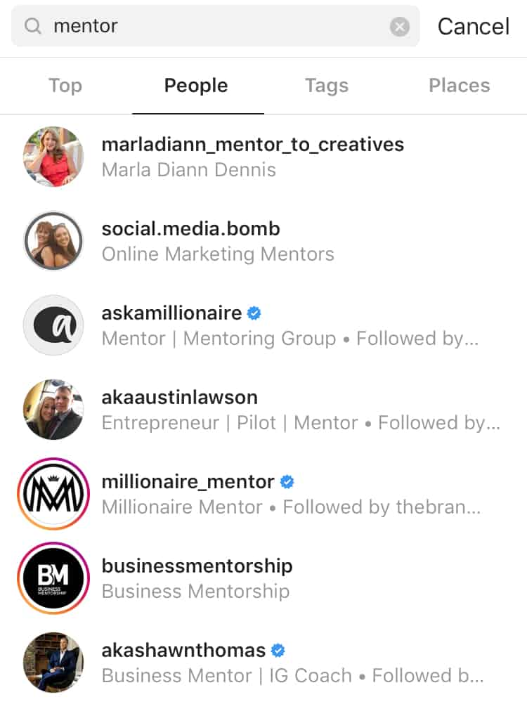 Finding a Mentor Using Social Media for starting a side business while employed
