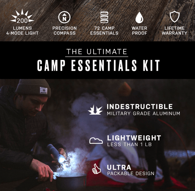 VSSL Camp Supplies was funded in under four hours is an example of most successful Kickstarter campaigns
