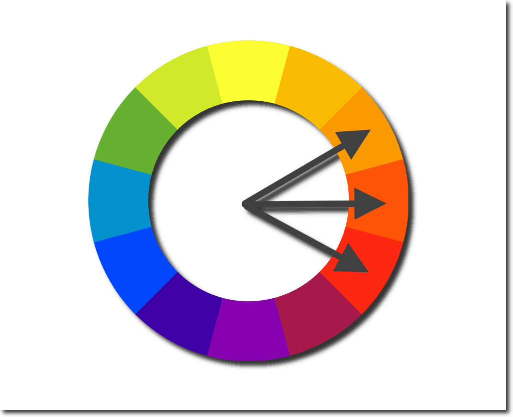 logo color schemes color wheel