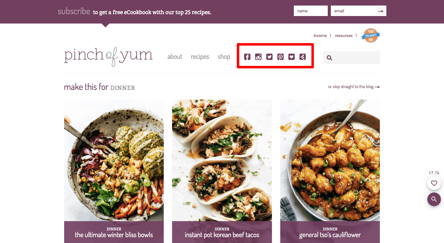 Pinch of Yum A food blog with simple and tasty recipes