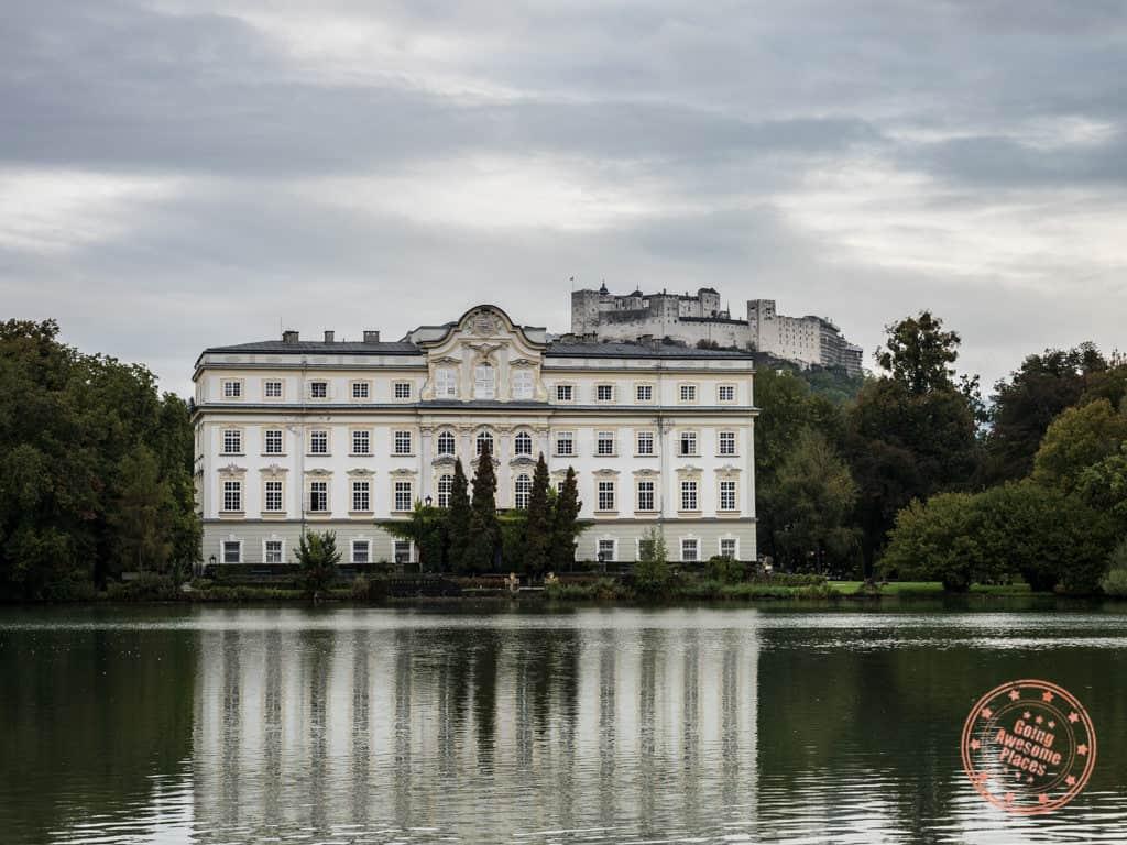 schloss leopoldskron in sound of music tour salzburg