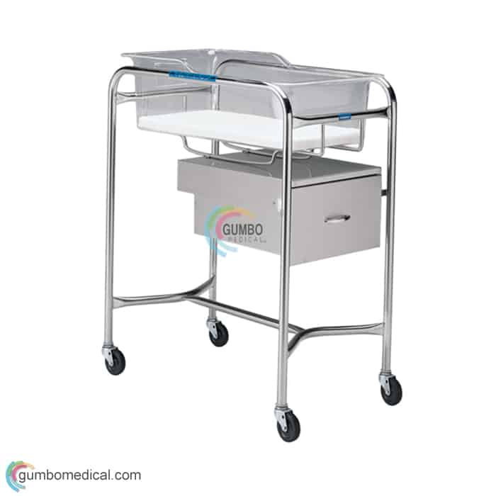 Stainless Steel Bassinet P1110AS