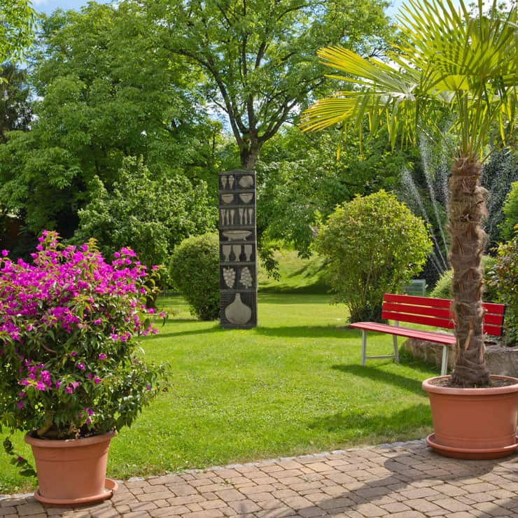 Gartenhotel-Feldeck-Einzelzimmer-Garten-Image