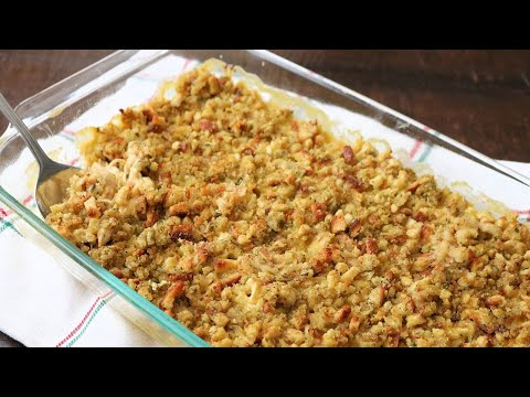 Easy Chicken and Stuffing Casserole Bake with Stove Top Stuffing (So Delicious!)