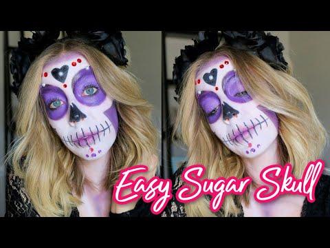 Easy Sugar Skull Makeup Tutorial