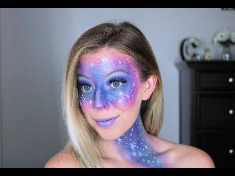 Easy Galaxy Makeup Tutorial