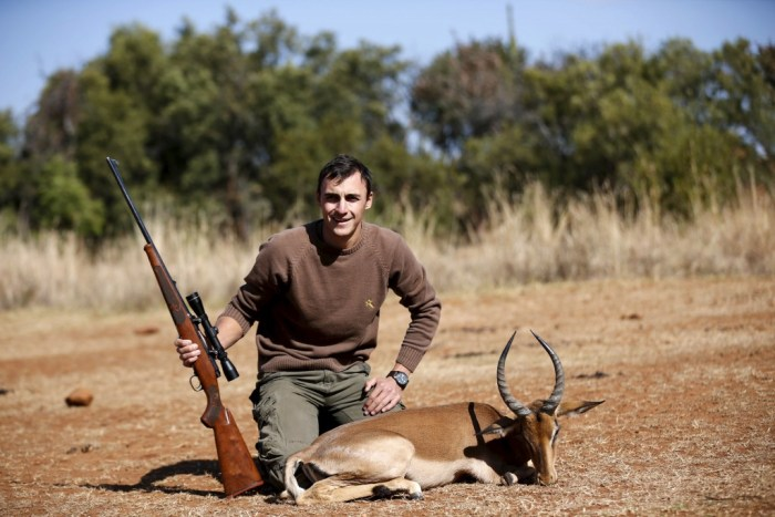 """Image result for trump and other big game hunters kill precious animals"""""""