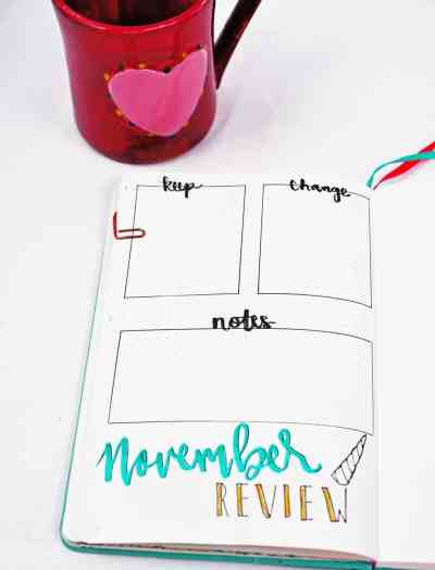 Narwhal horn monthly review layout.