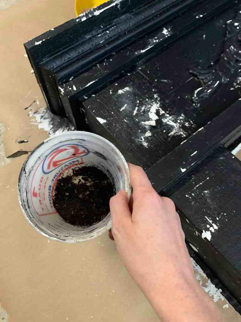 add mud to paint