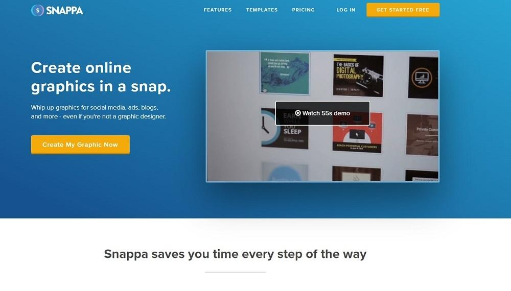 best tools for digital marketing - snappa
