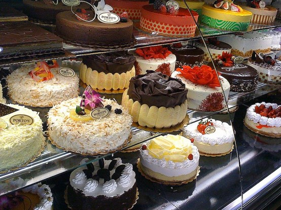 bakery cakes in vons store