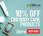 10% off CBD Body Care Products