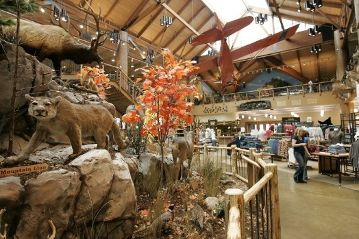 Bass pro shops interior designs