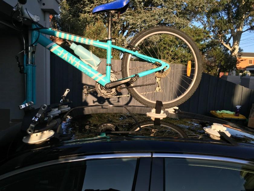Lexus ES300h Bike Rack - The SeaSucker Bomber