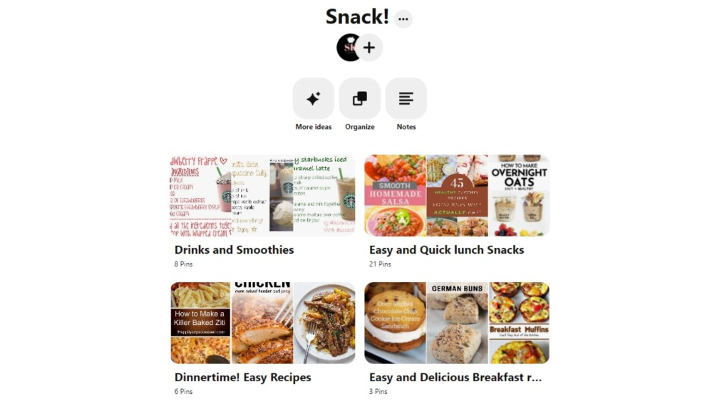 Follow my Pinterest board called snack for more recipes