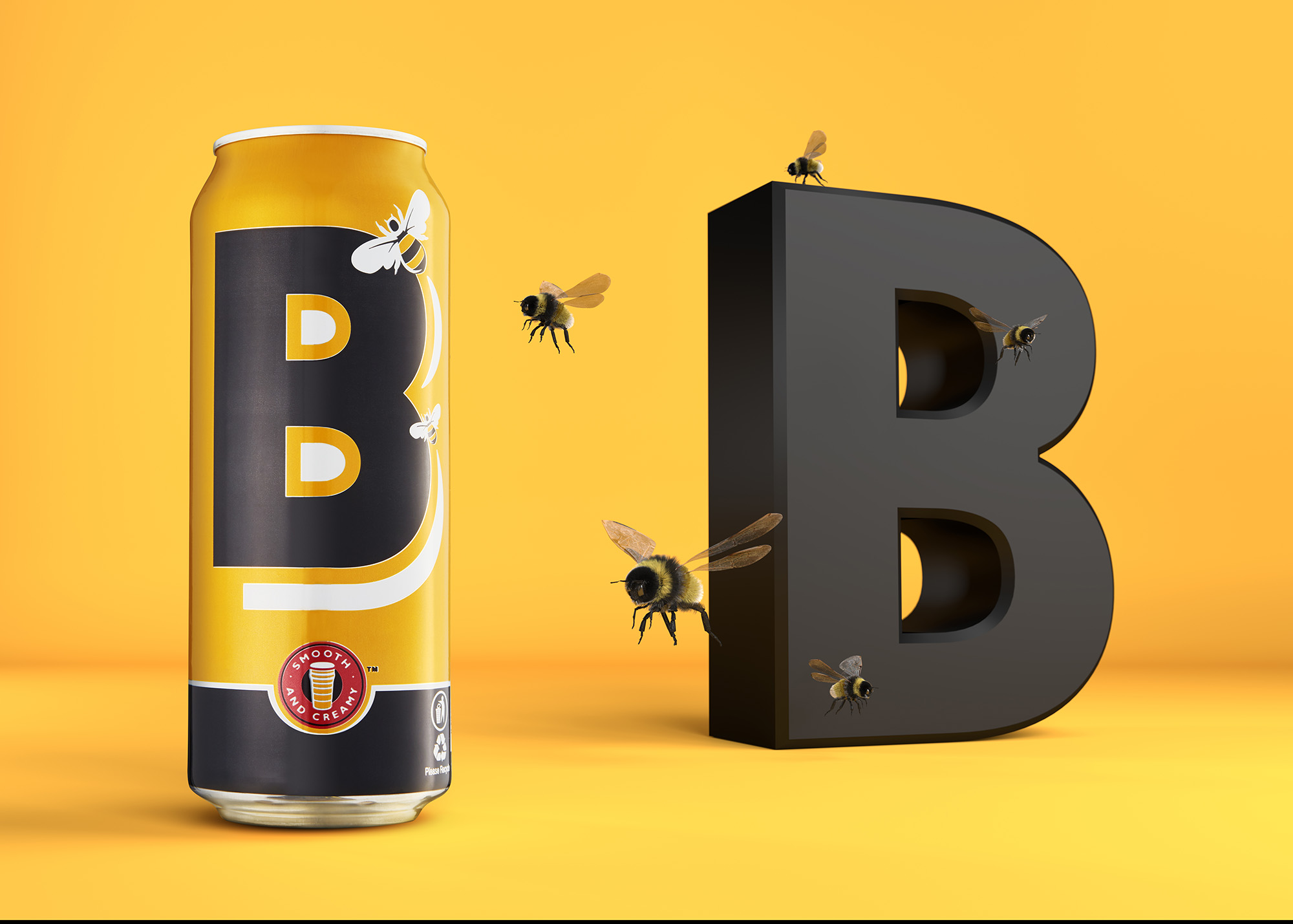 Ian Knaggs Commercial Product Photographer - Boddingtons & Bees