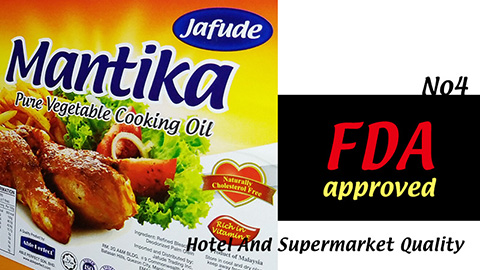 Cooking Oil and Vegetable Oil Supplier in Cebu (Philippines) -jafude mantika palm oil properly sealed.