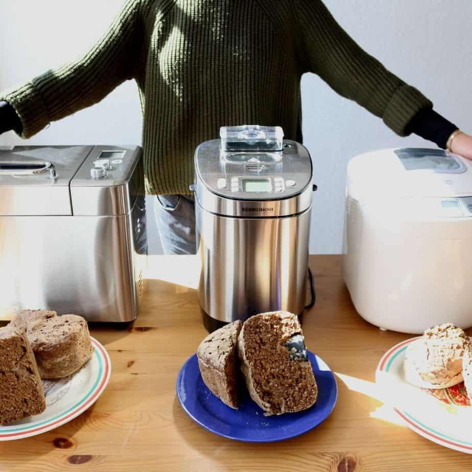 Brotbackautomat Test Alle Geraete Brot Ergebnisse mit Maschinen