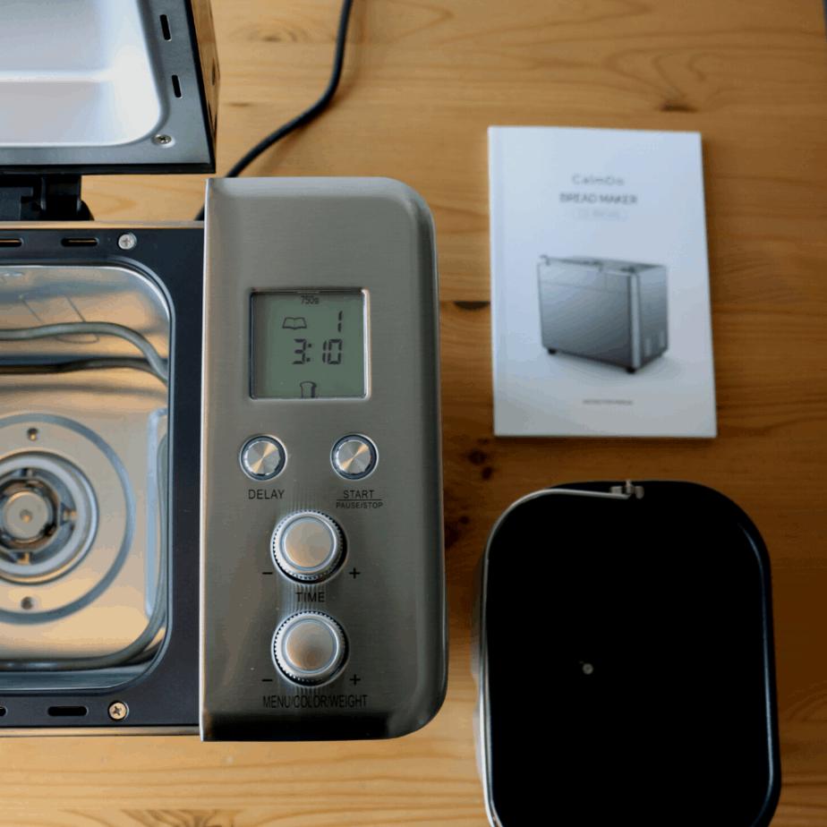 CalmDo Brotbackautomat Brotform und Display