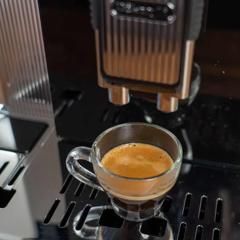 Delonghi Maestosa Kaffeevollautomat - Espresso, Nahansicht