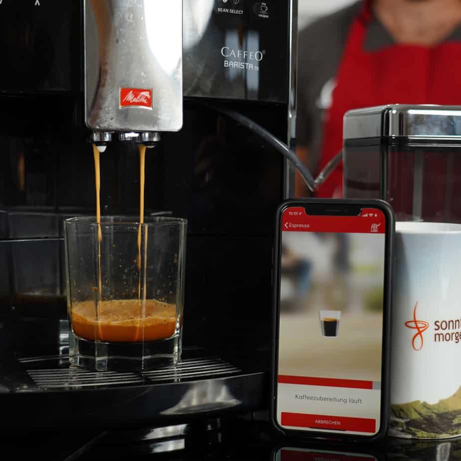 Melitta Caffeo Barista KVA - Espressobezug