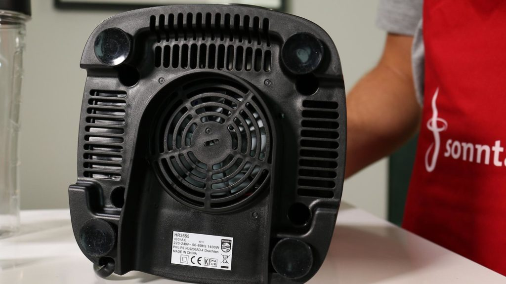 Philips Avance ProBlend 6 3D - Unterseite