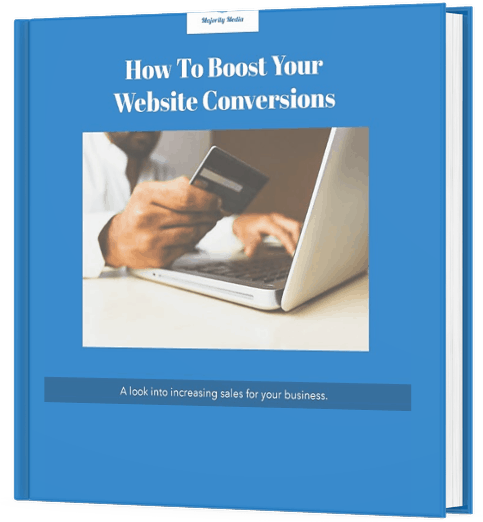 How To Boost Your Website Conversions eBook cover