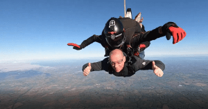 Charity Skydive for Midlands Air Ambulance.