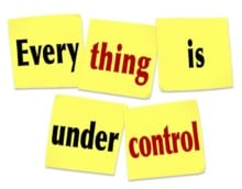 Project Controls - Everything is under control