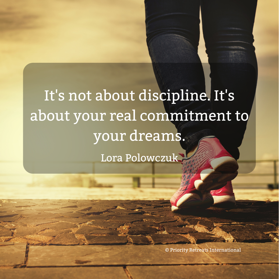 Why it's not about discipline