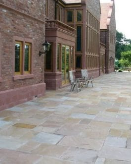 Raj Green Driveway Grade Sandstone – 25-35mm – 4 Size/15.5 m2 Project Pack