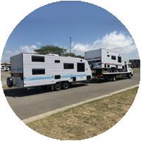 Caravan Towing Icon