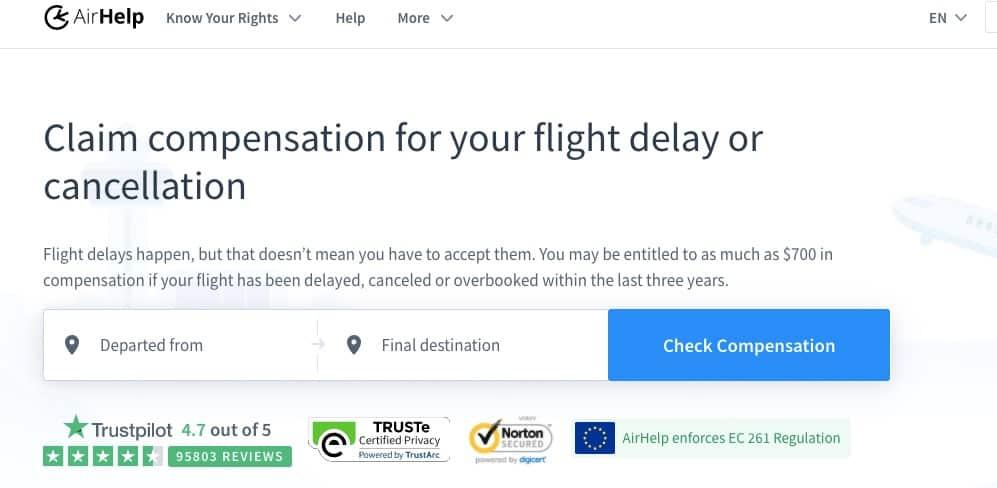 AirHelp Reviews