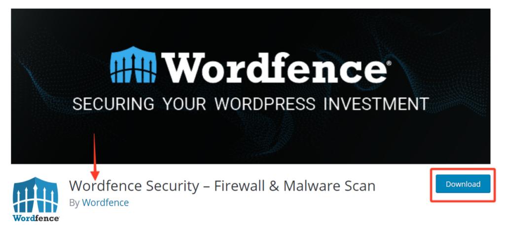WordPress security plugins - Wordfence
