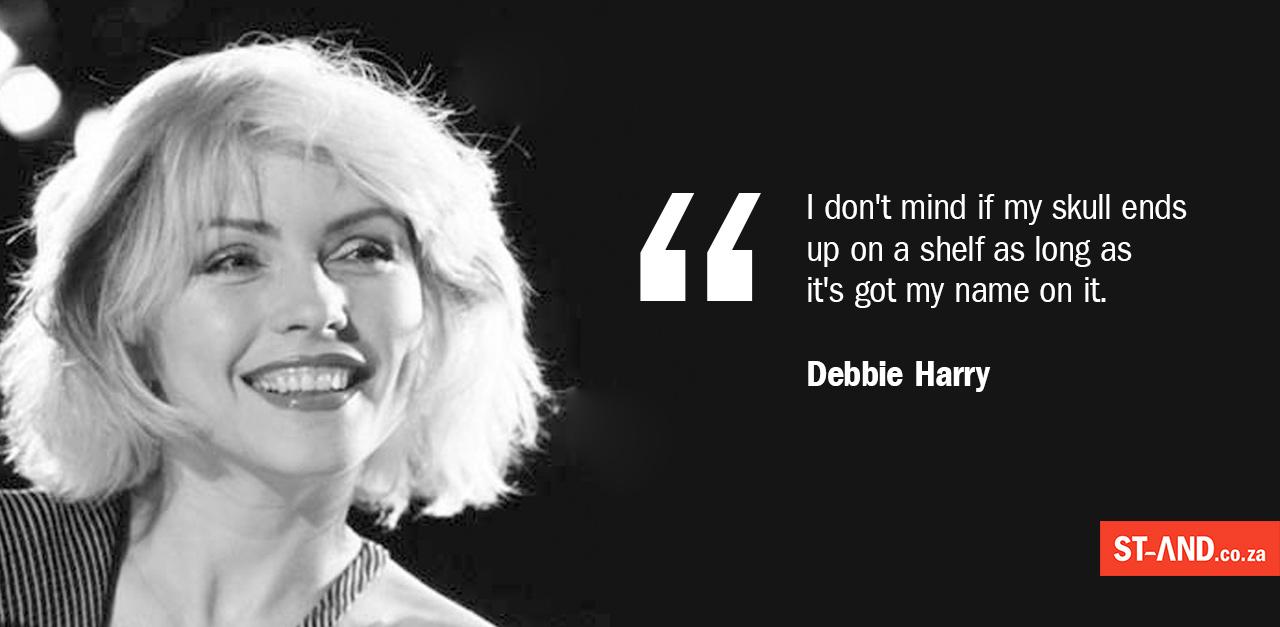 Debbie Harry on legacy