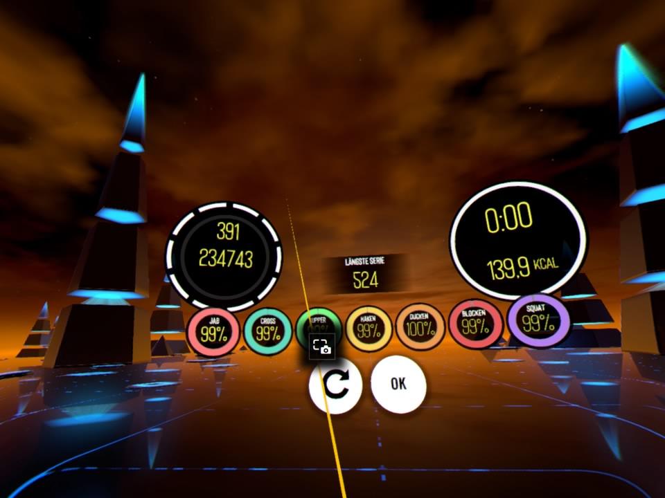 BoxVR/FitXR - Ein Fitness Game für Senioren? 3