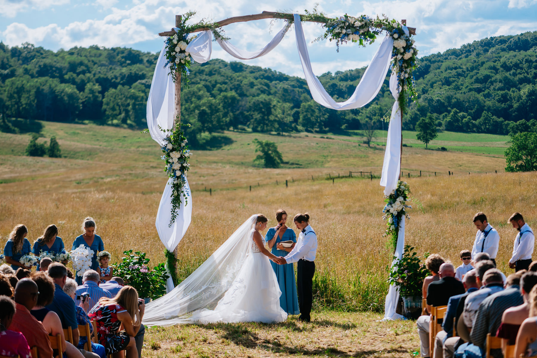 boho wv farm wedding