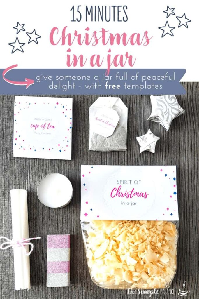 DIY gift idea: 15 Minutes of Christmas in a jar 8