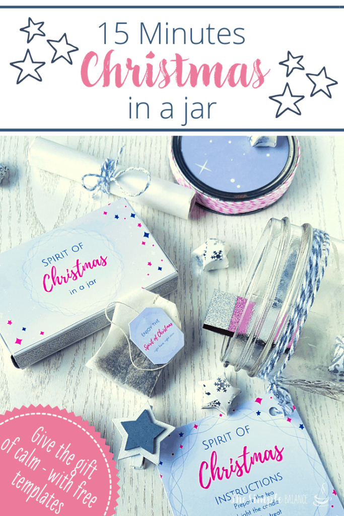 DIY gift idea: 15 Minutes of Christmas in a jar 4
