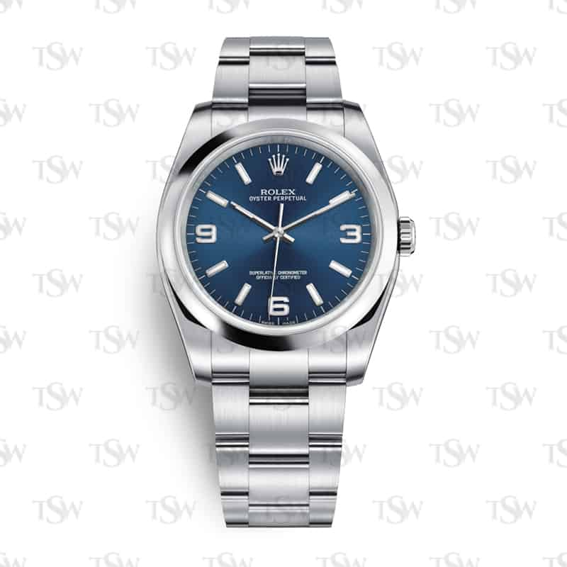 rolex oyster perpetual 36 blue