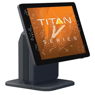 SAM4S Titan S265V Touch Screen Till No Extras Black